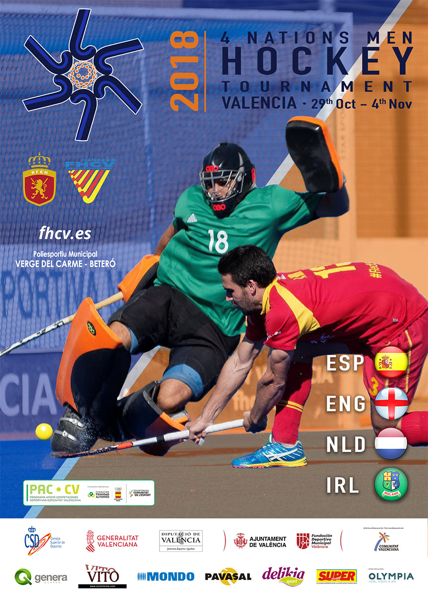 Poster 4 nations Valencia 2018