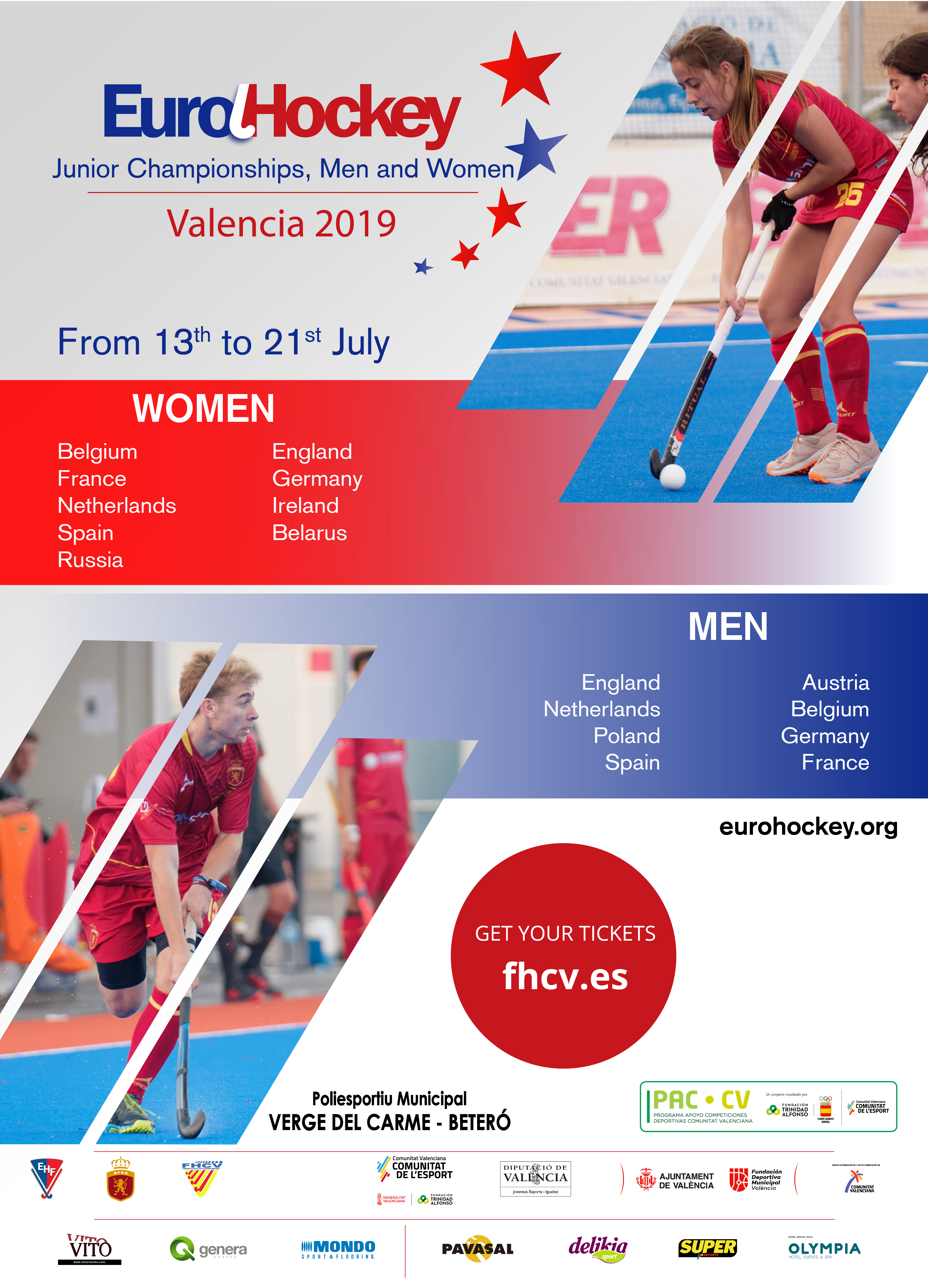 Poster EUROHOCKEY 2019
