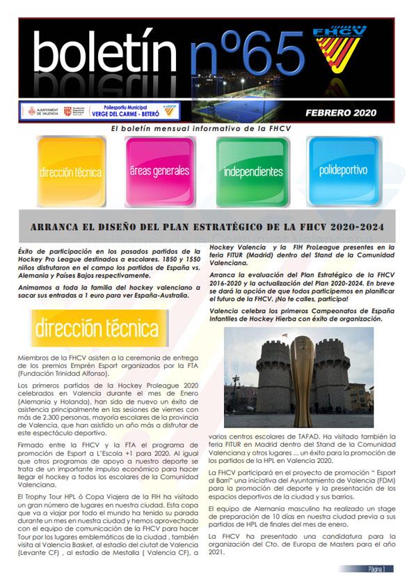 Boletín Febrero 2020