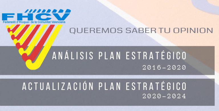 QUEREMOS SABER TU OPINON PLAN ESTRATEGICO FHCV 2020-2024