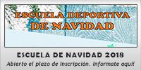 ESCUELA DEPORTIVA DE NAVIDAD 2018