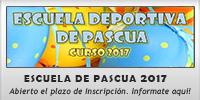 ESCUELA DEPORTIVA DE PASCUA 2017