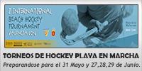 FHCV - VALENCIA SE PREPARA PARA DOS TORNEOS DE HOCKEY PLAYA.