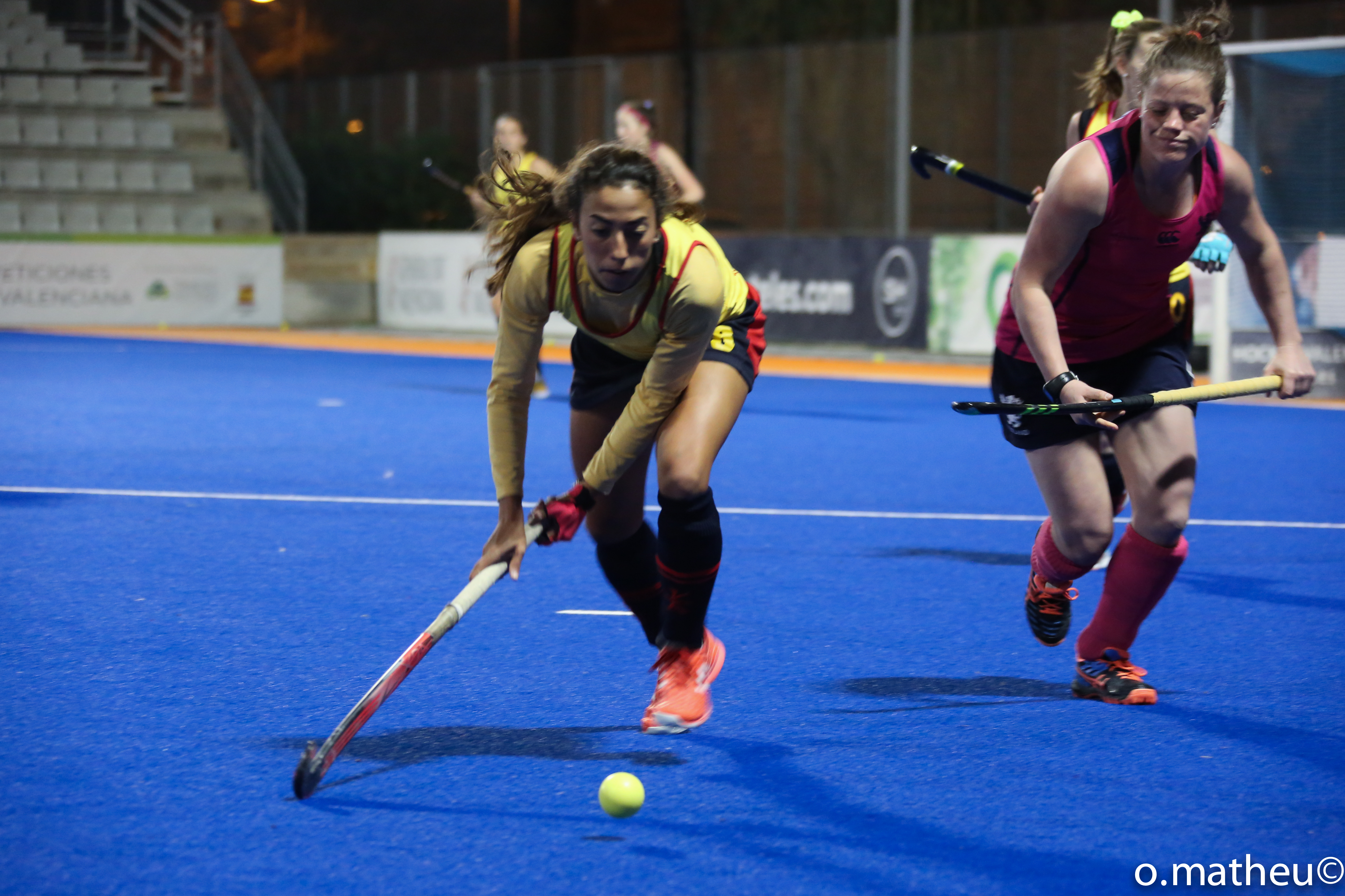 Todo listo para la Valencia Hockey World League